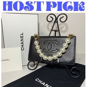 CHANEL Authentic Vintage Wallet on Chain Crossbody